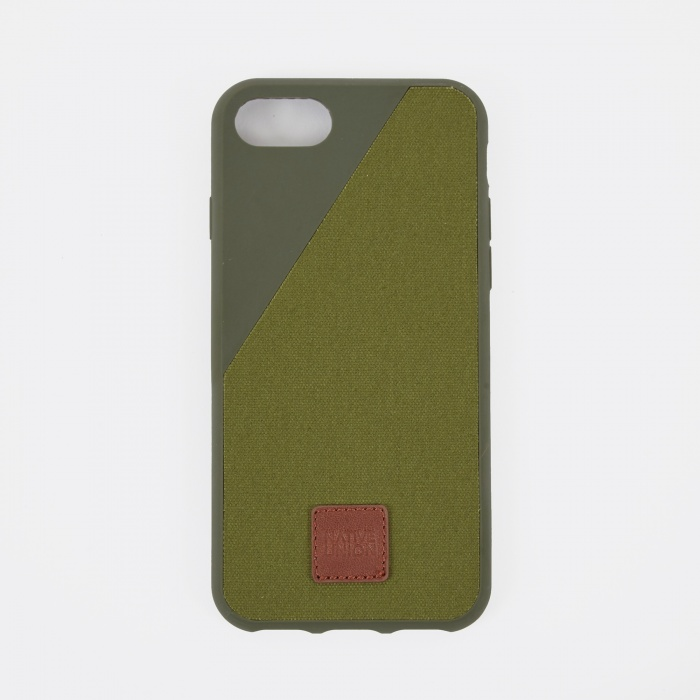 Native Union Clic 360 iPhone 7 Case - Olive (Image 1)