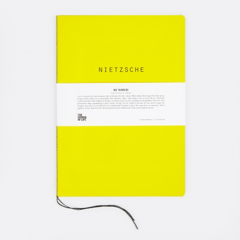 Big Thinkers Notebooks : Nietzsche & Freud