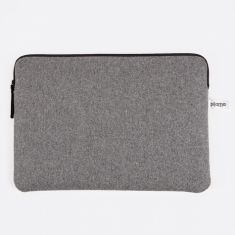 "Pijama Zip Case for Macbook 15"" - Grey Flanel"