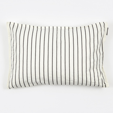 Vega Cushion 40x60cm - White/Dark Grey