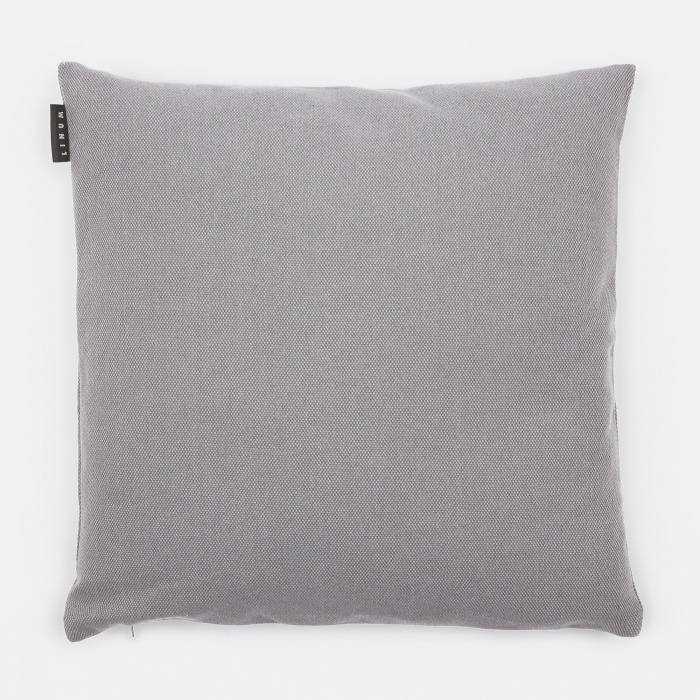Linum Pepper Cushion 50x50cm - Light Grey (Image 1)