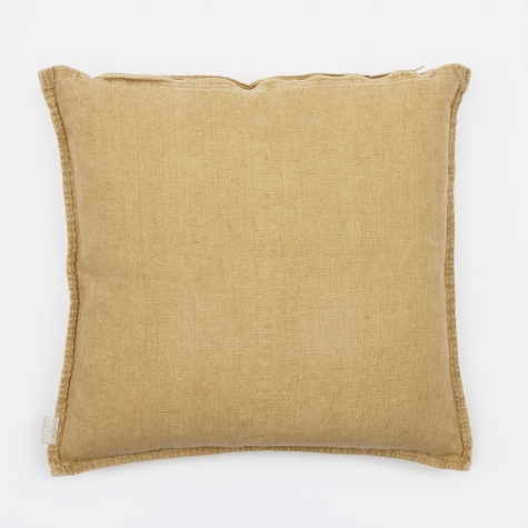 West Cushion 50x50cm - Straw Yellow