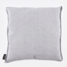Linum West Cushion 50x50cm - Light Stone Grey