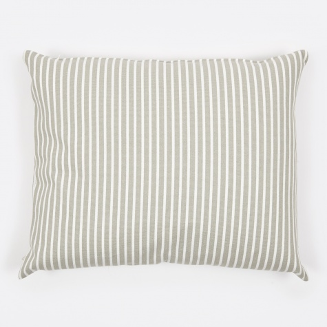 Camargue Cushion 50x60cm - Light Grey/White