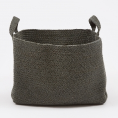 YUYU Square Basket - Charcoal