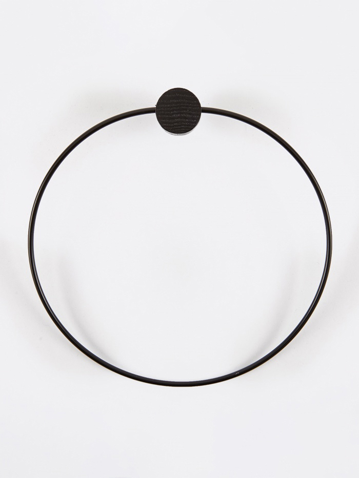 Ferm Living Black Towel Hanger (Image 1)