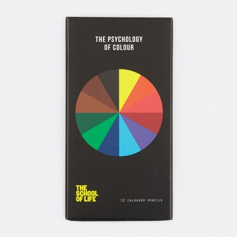 The Psychology of Colour Pencil Set