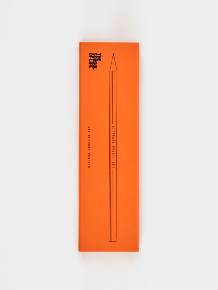 The School of Life Literary Pencil Set (Image 1)