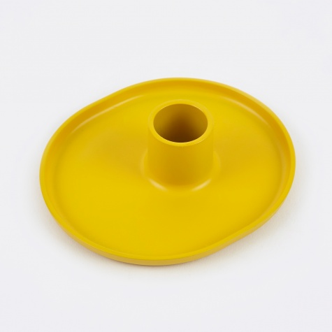 Folk Candle Holder - Yellow
