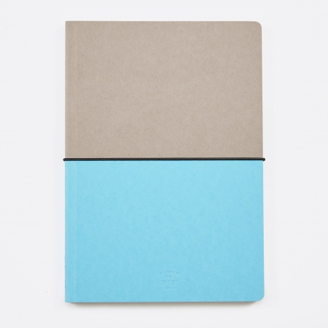 HIBI A5 Notebook - Blue