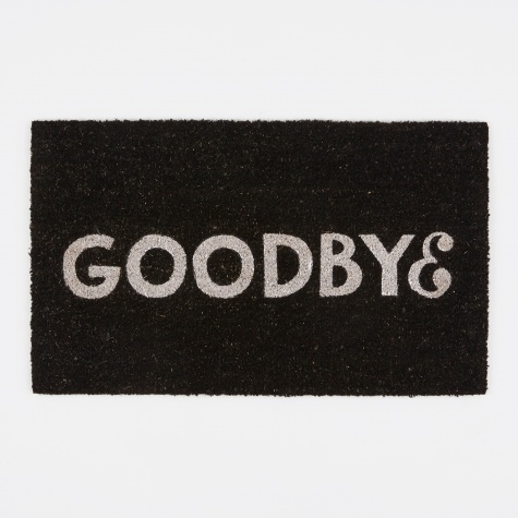 Goodbye Doormat - Black