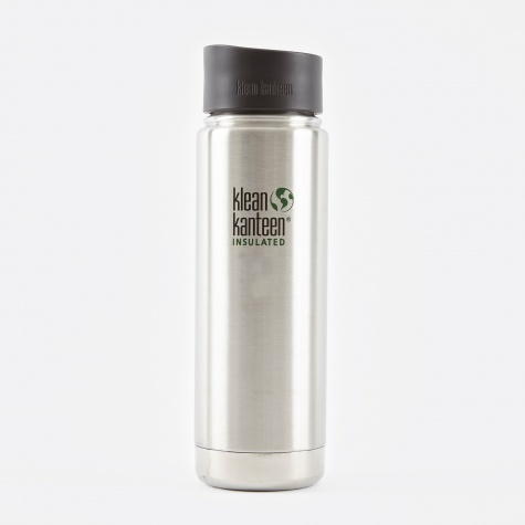 Wide Insulated With Cafe Cap 592ml - Stainless