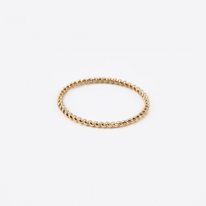 Gabriela Artigas Rope Ring - Yellow Gold (Image 1)