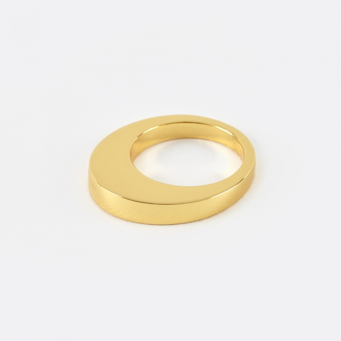 Gabriela Artigas Egg Ring - 14K Yellow Gold Plated (Image 1)