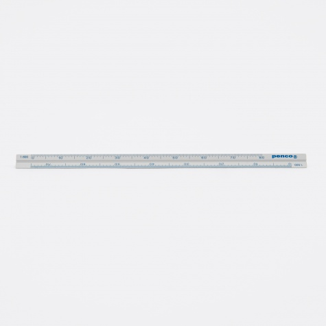 Penco Drafting Scale Ruler - Silver