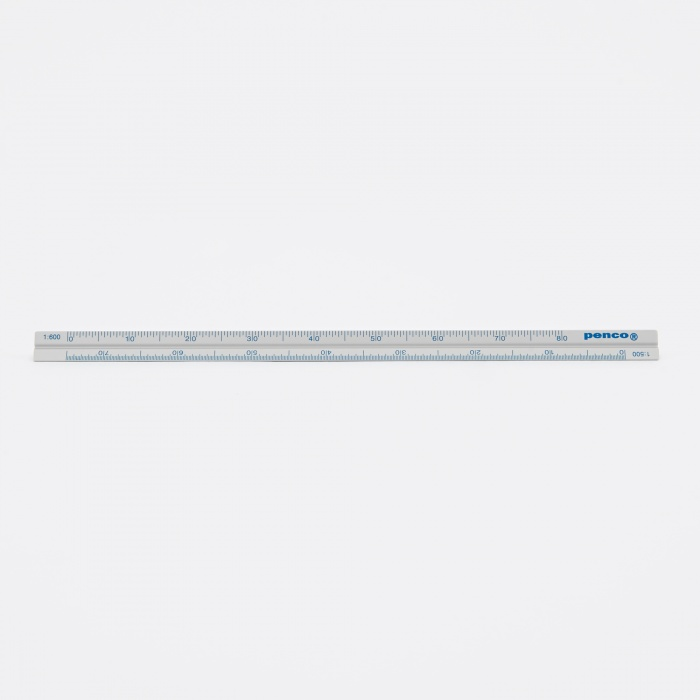 Hightide | Penco Penco Drafting Scale Ruler - Silver (Image 1)