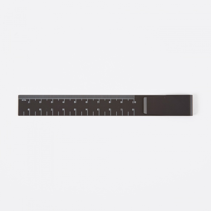 Hightide | Penco Clip Ruler - Black (Image 1)