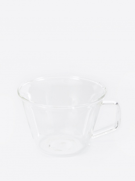 Cast Coffee Cup 220ml - Clear