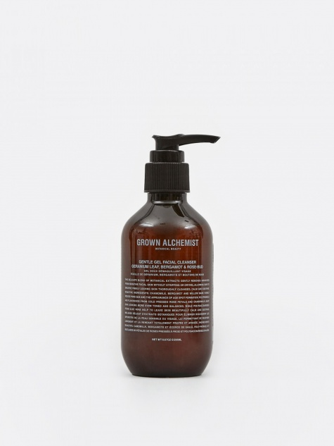 Gentle Gel Facial Cleanser: Geranium Leaf, Berga