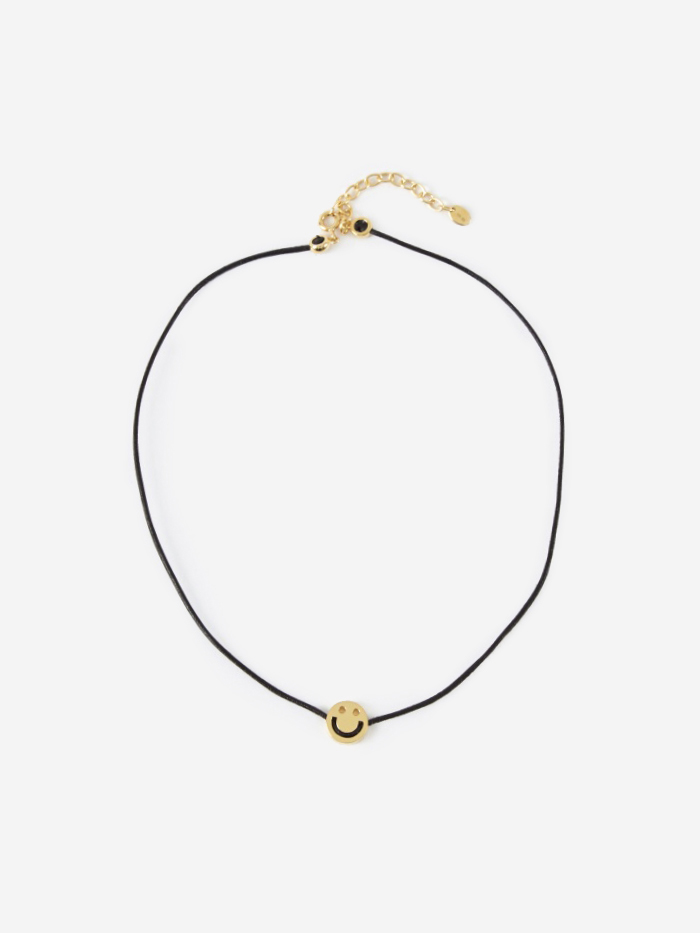 Ruifier Friends Choker - Black Leather (Image 1)