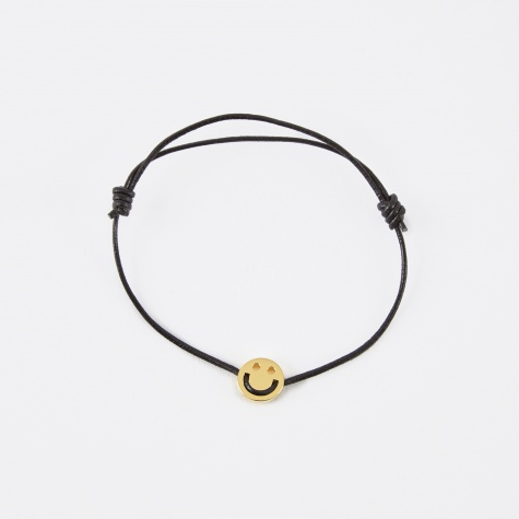 Friends Bracelet - Black Leather