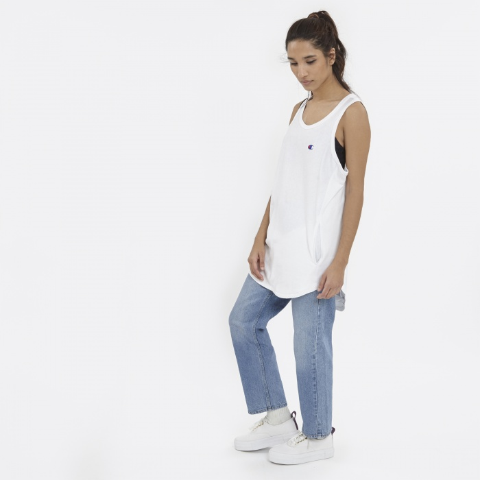 Champion x Beams Vest - White (Image 1)