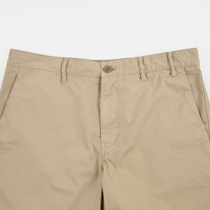 Norse Projects Aros Light Twill Shorts - Khaki (Image 1)