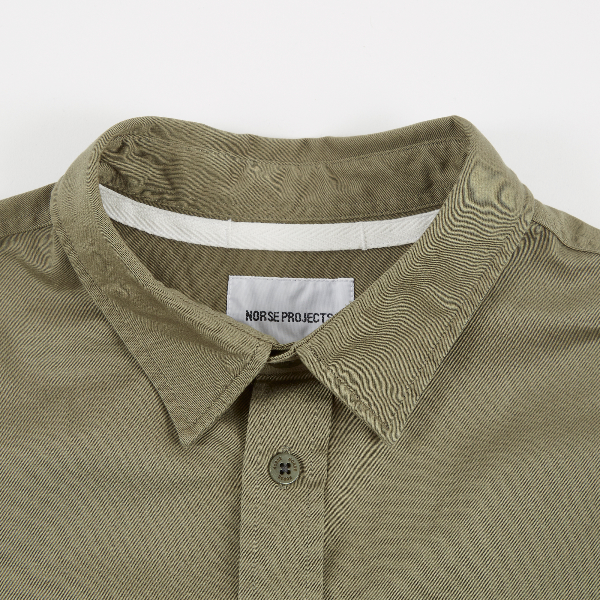 4c6c80c0a57 Norse Projects Villads Twill Shirt - Dried Olive
