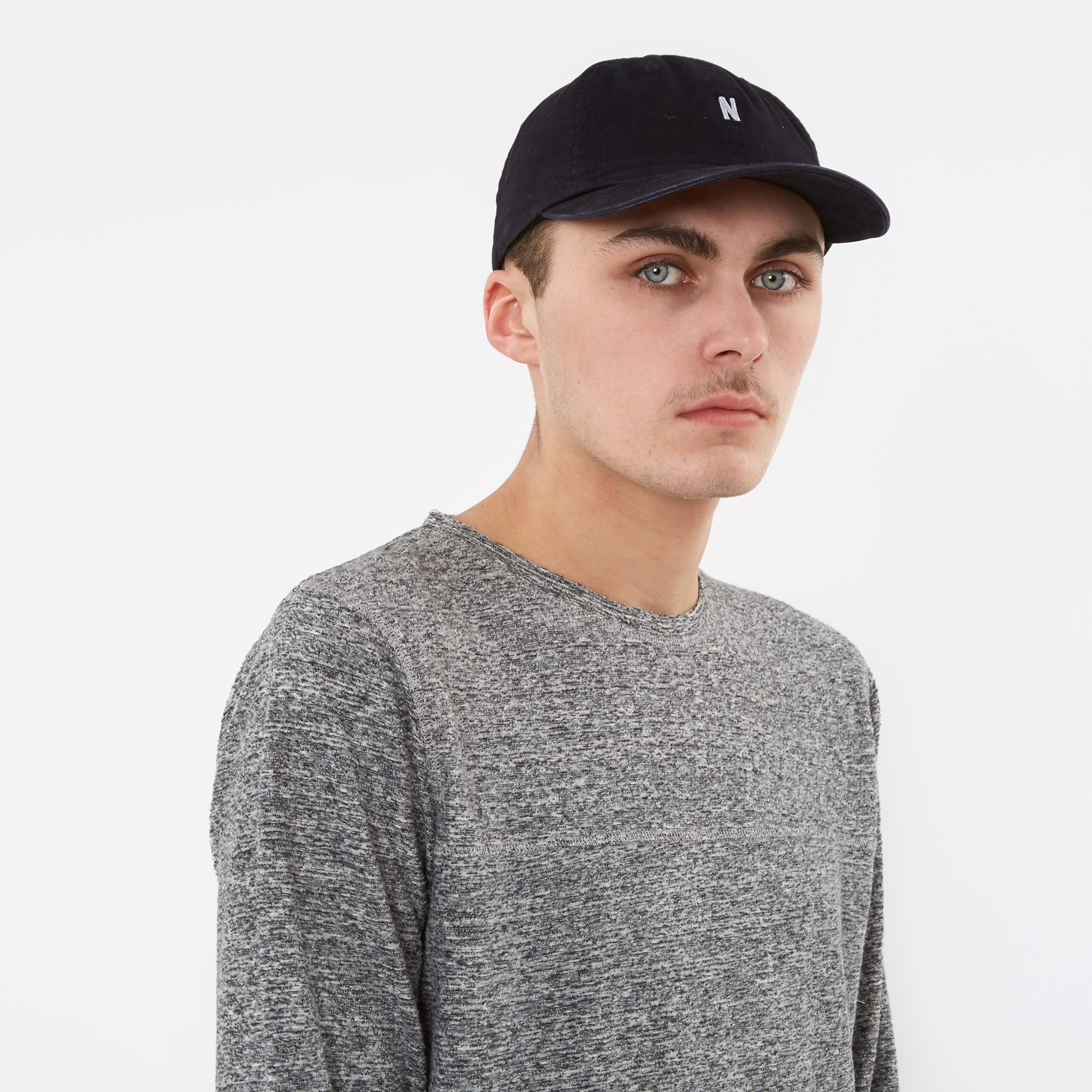 Norse Projects Light Twill Sports Cap - Navy 327bbf10b4d