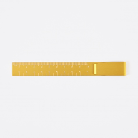 Hightide Clip Ruler - Yellow