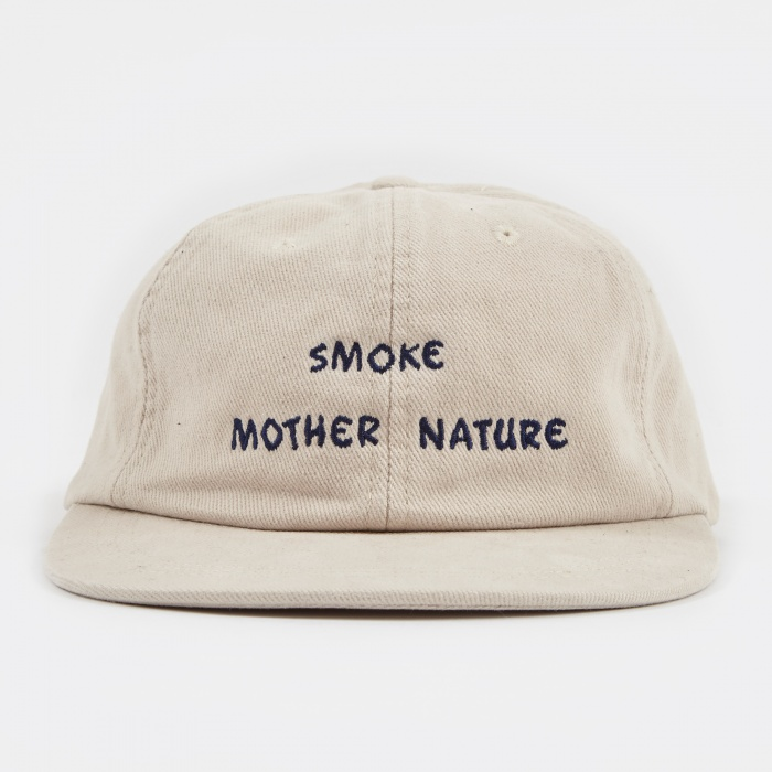 Mister Green Smoke Mother Nature Cap - Natural/Blue (Image 1)