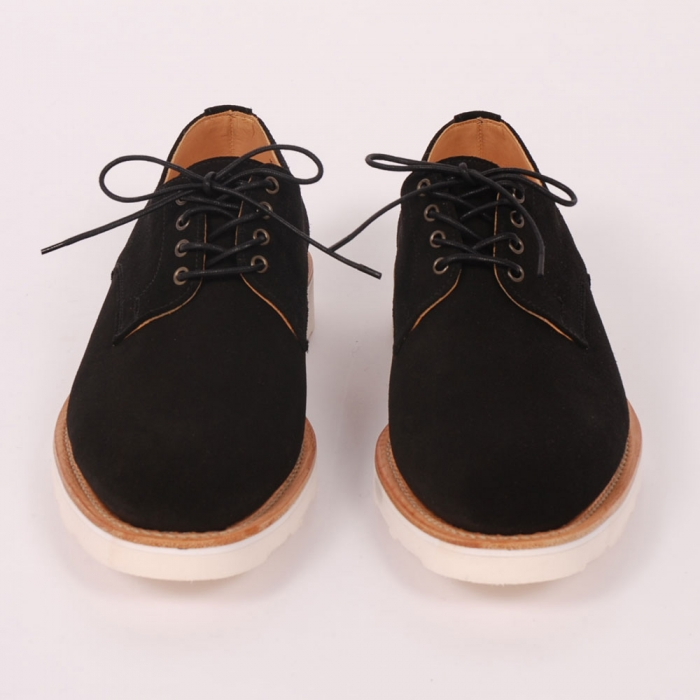 Mark McNairy Derby Work Shoe - Black (Image 1)