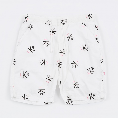 Luker by Neighborhood LKR Pattern Shorts - White