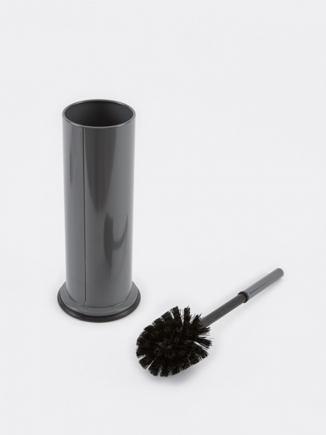 Steel Toilet Brush - Grey