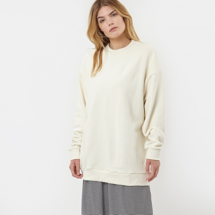 Can Pep Rey Classic Oversize Sweatshirt - Off White (Image 1)