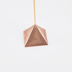 M A A P S Pyramid Incense Holder - Rose