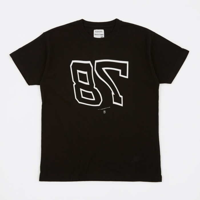 Goods By Goodhood 78 T-Shirt - Black (Image 1)