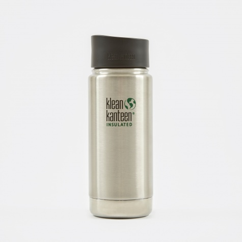 Wide Insulated With Cafe Cap 473ml - Stainless