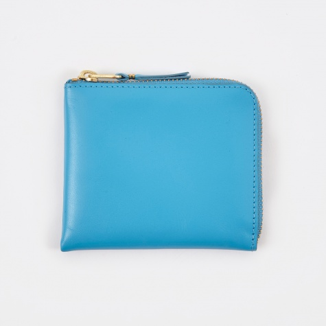 Comme des Garcons Wallet Classic Leather Line S (SA3100) - Blue