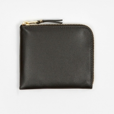 Comme des Garcons Wallet Classic Leather Line S (SA3100) - Black