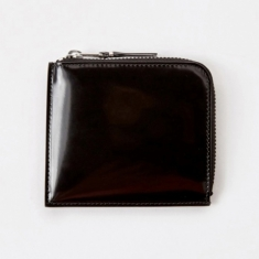 Comme des Garcons Wallets Mirror Inside S (SA3100MI) - Black/Sil