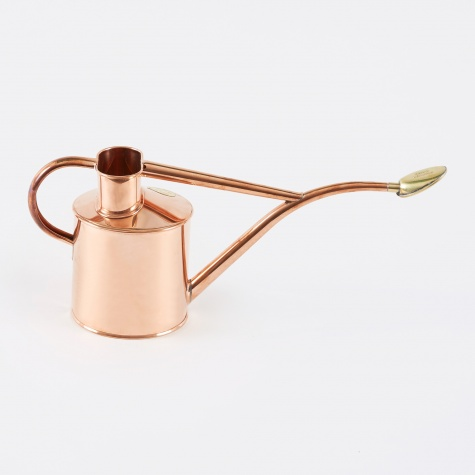 1 Litre Metal Indoor Watering Can - Copper