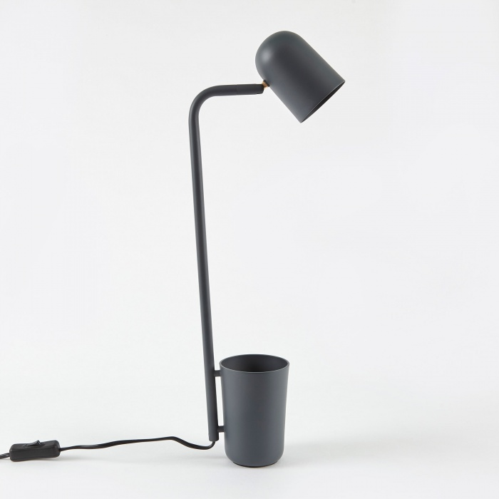 Northern Lighting Buddy Desk Lamp - Dark Grey (Image 1)