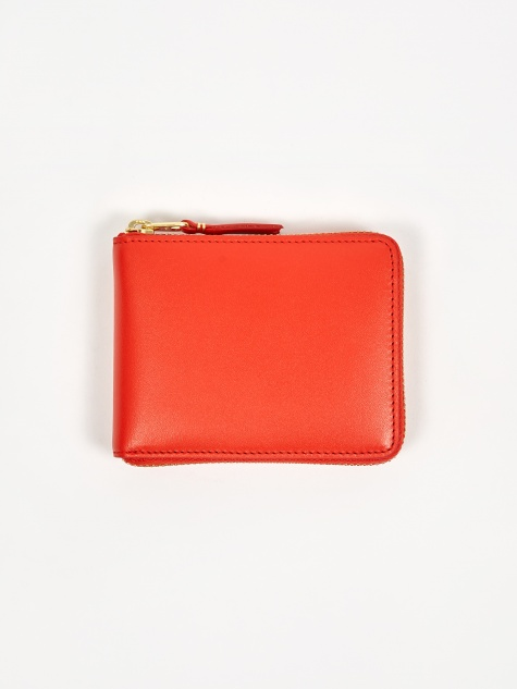Comme Des Garcons Wallet Classic Leather XS (SA7100) - Orange