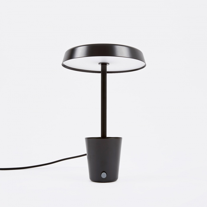 Umbra Shift Cup Lamp - Black (Image 1)
