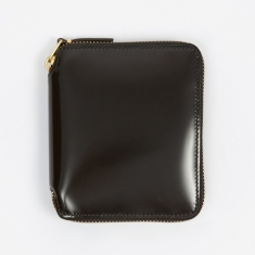 Comme des Garcons Wallets Mirror Inside M (SA2100MI) - Black/Gol