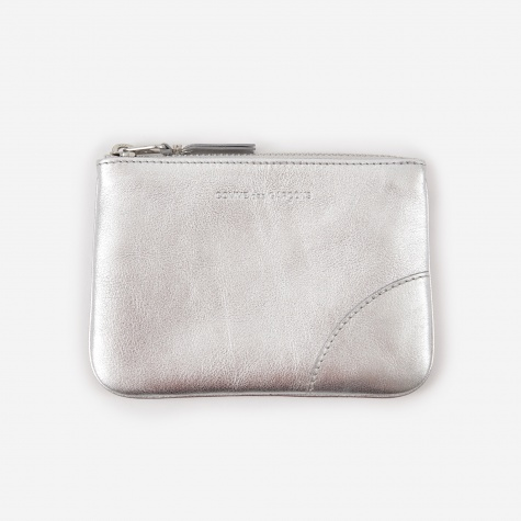 Comme des Garcons Wallet Classic Leather (SA8100G) - Silver