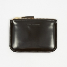 Comme des Garcons Wallets Mirror Inside (SA8100MI) - Black/Gold
