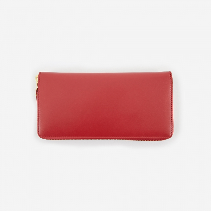 Comme des Garcons Wallets Comme Des Garcons Wallet Classic Leather L  (SA0110) - Red (Image 1)