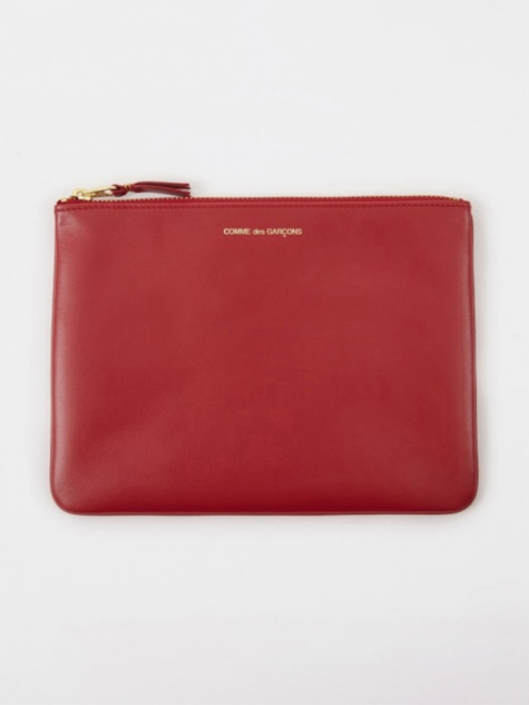 Comme Des Garcons Wallet Classic Leather W (SA5100) - Red